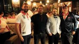 Hull KR at Wine Tapas