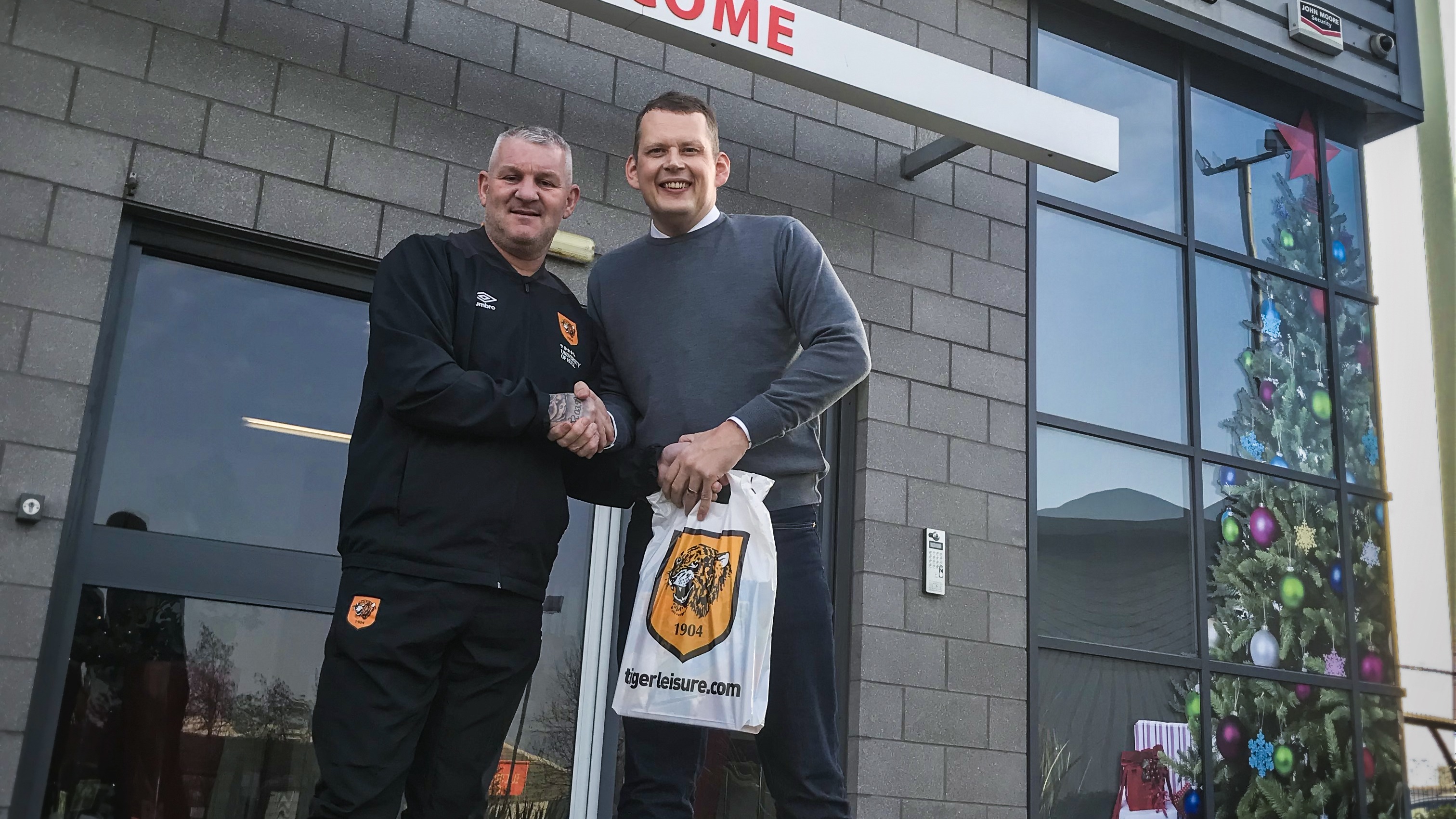 Dean Windass and Rob Daysley