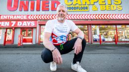Andrew Shaw owner of United Carpets and Beds on Southcoates Lane in Hull
