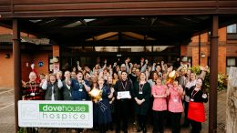 The team at Dove House Hospice