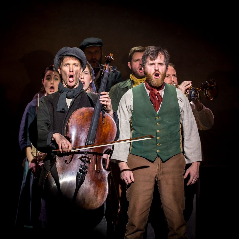 The Hired Man cast Photo by Mark Sepple