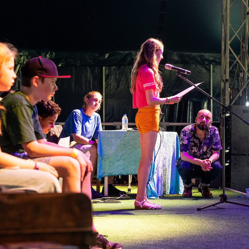 The Poetry Slam at The Big Malarkey Festival credit Jerome Whittingham @PhotoMoments