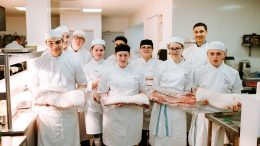 Catering team at Hull College Freedom Festival