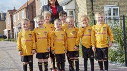 Beal Kingswood football team sponsorship