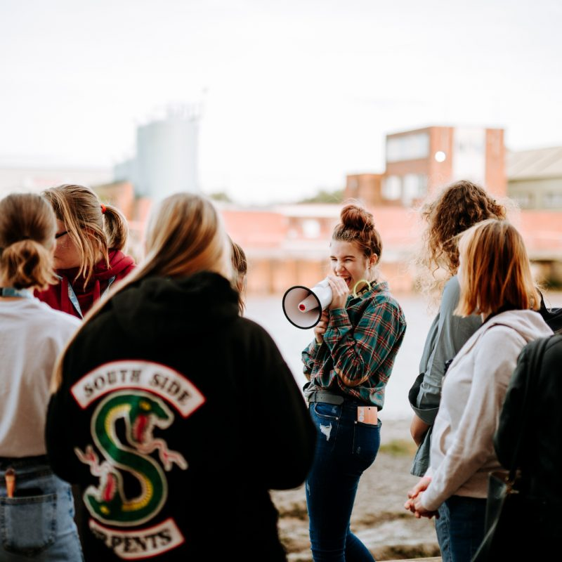 In pictures Freedom Festival  Teentalitarianism Night walks with teenagers credit Tom Arran