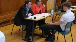 Mock Job Interviews at Beverley Grammar
