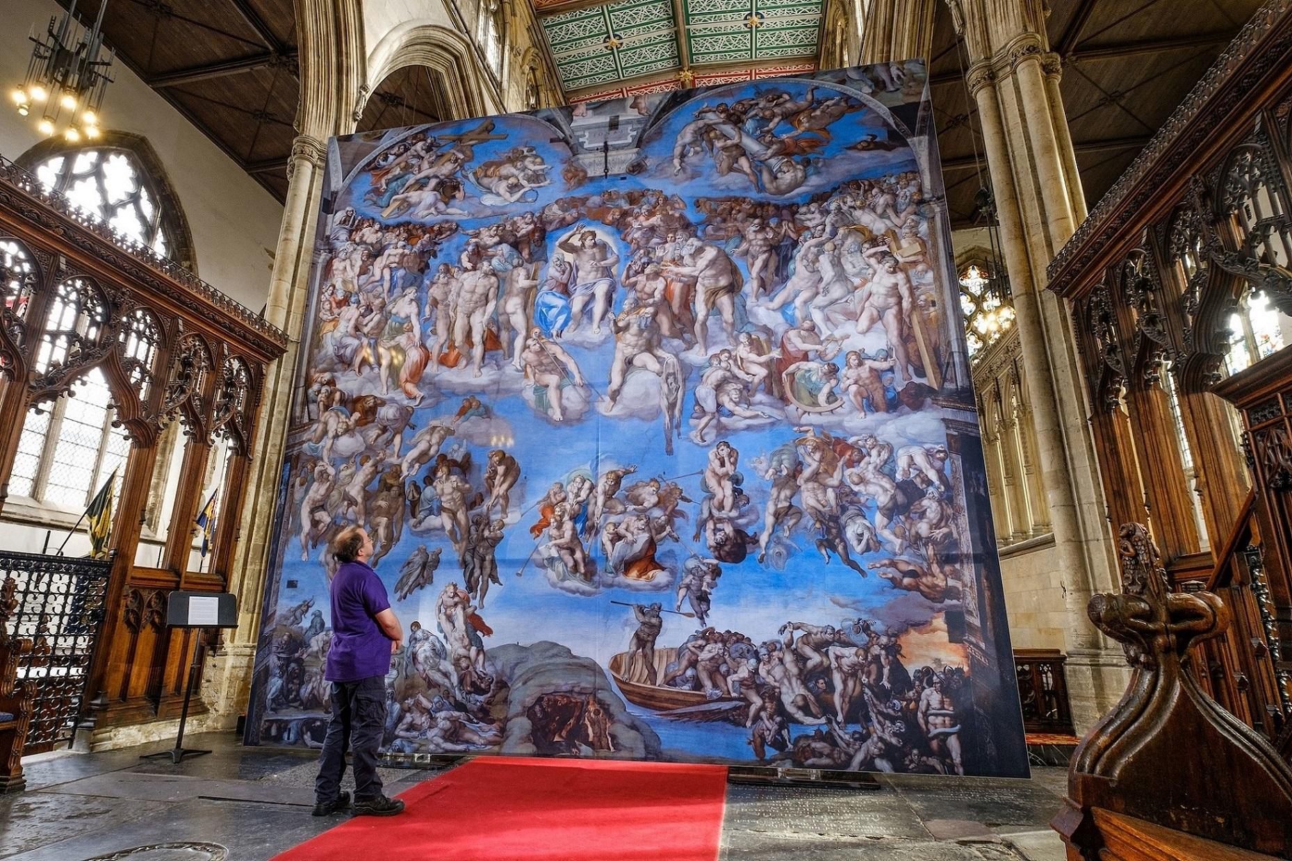 Hull Minster Sistine Chapel