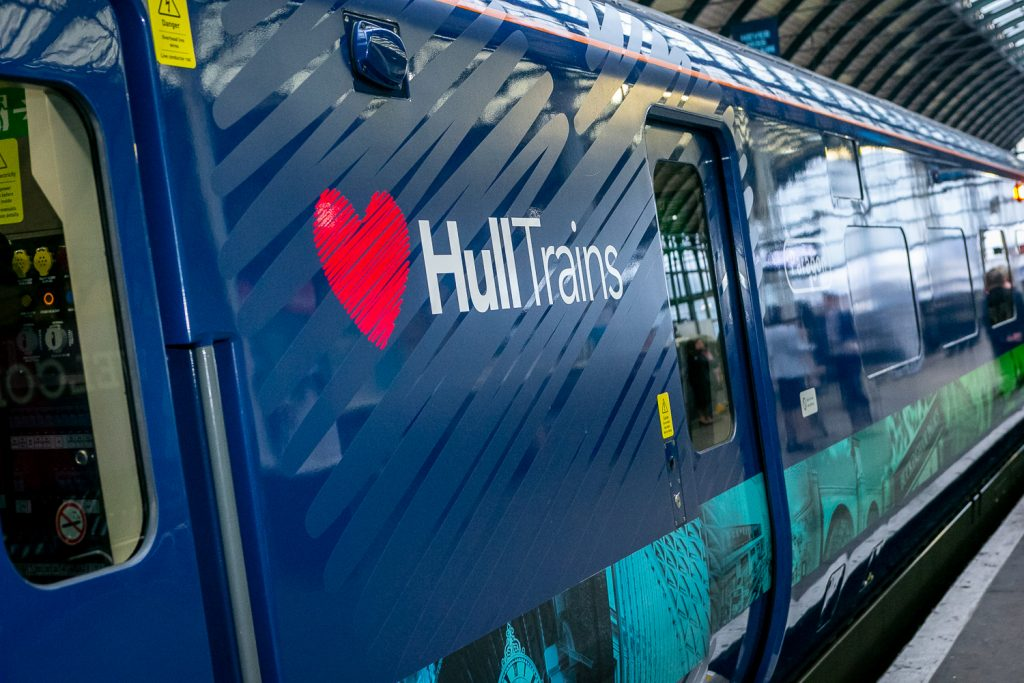 Hull Trains Paragon Fleet