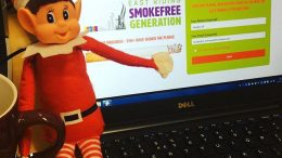 Santa's Smokefree wish for children in the East Riding this Christmas.