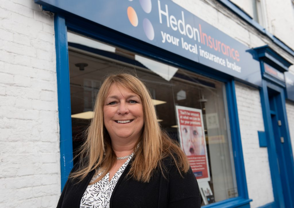 Anne Walters, Managing Director of Hedon Insurance.