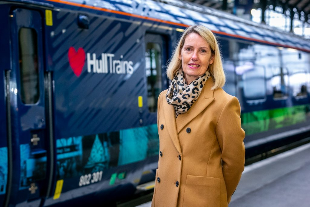 "All set to ""build business back up,"" says Hull Trains MD"