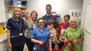 Project Christmas team at Hull Royal Informary