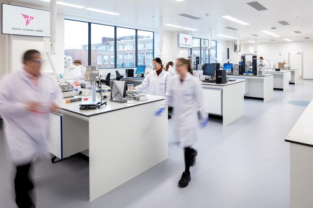 RB Science and Innovation Centre laboratories.