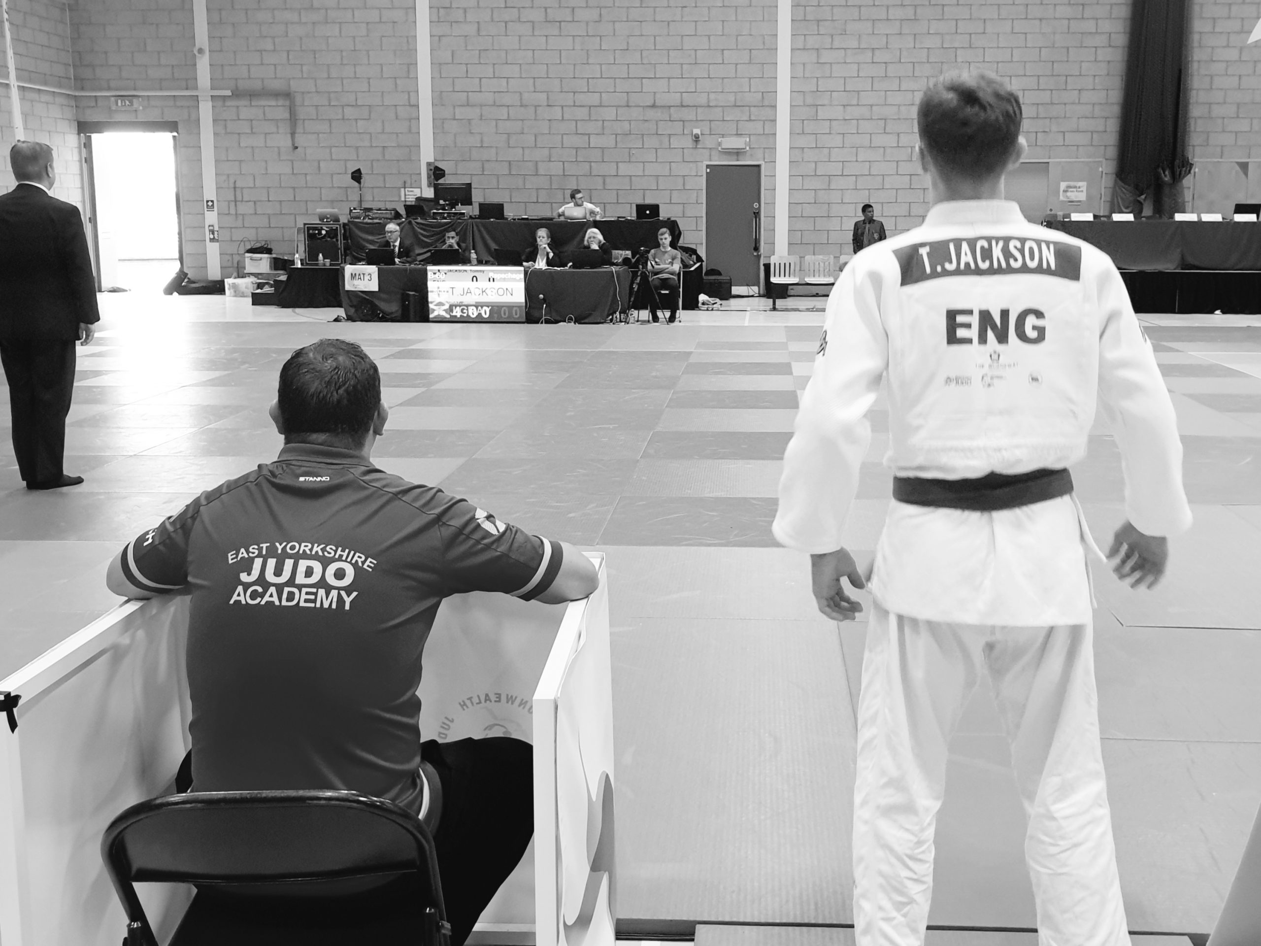 Teen judo start Tommy Jackson from east Hull