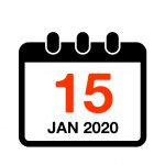 15th January 2020 date