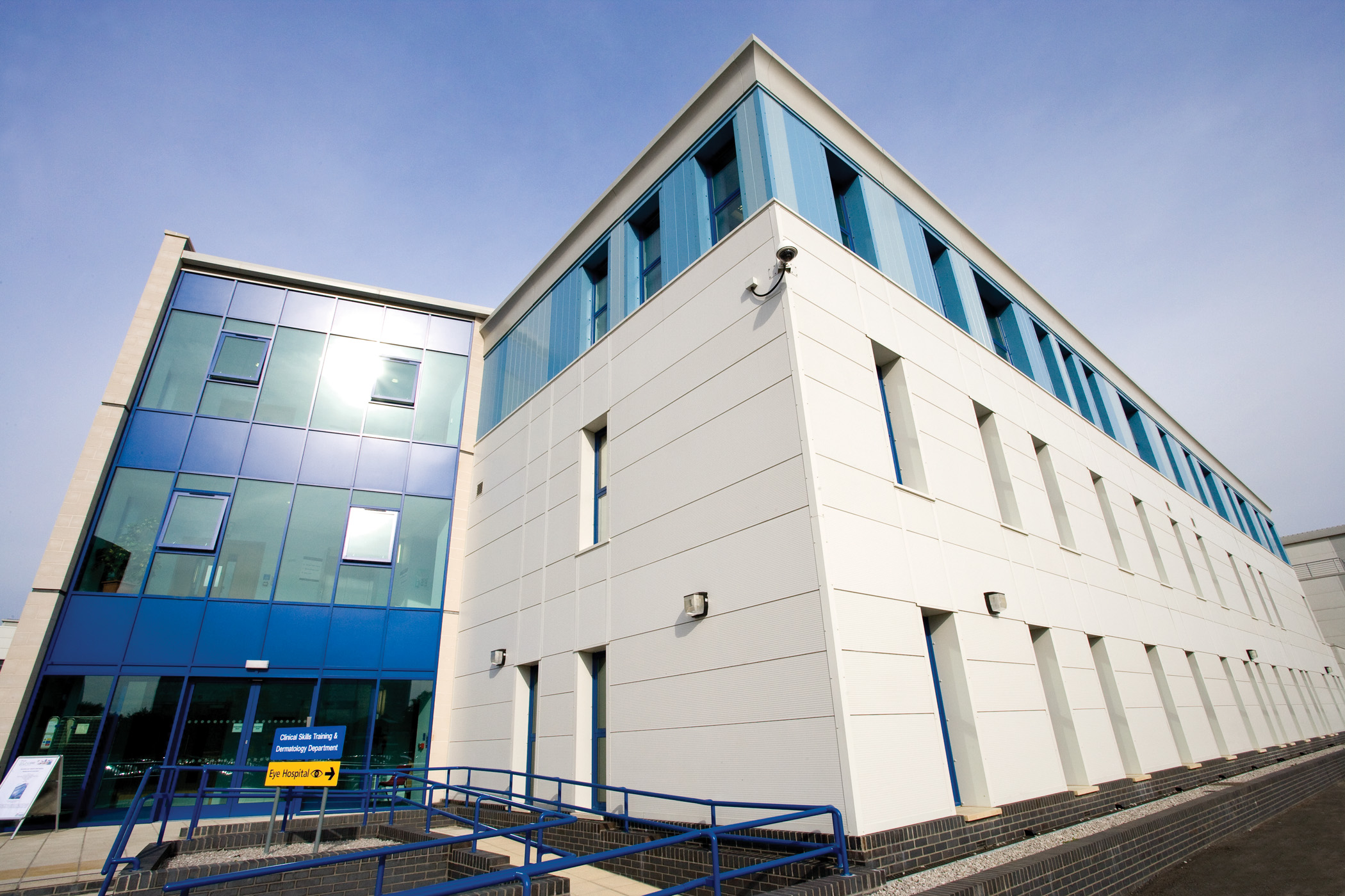 the Clinical Skills Building at HRI