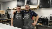 Grübb co-owners Rob Page (left) and Rhys Duerden