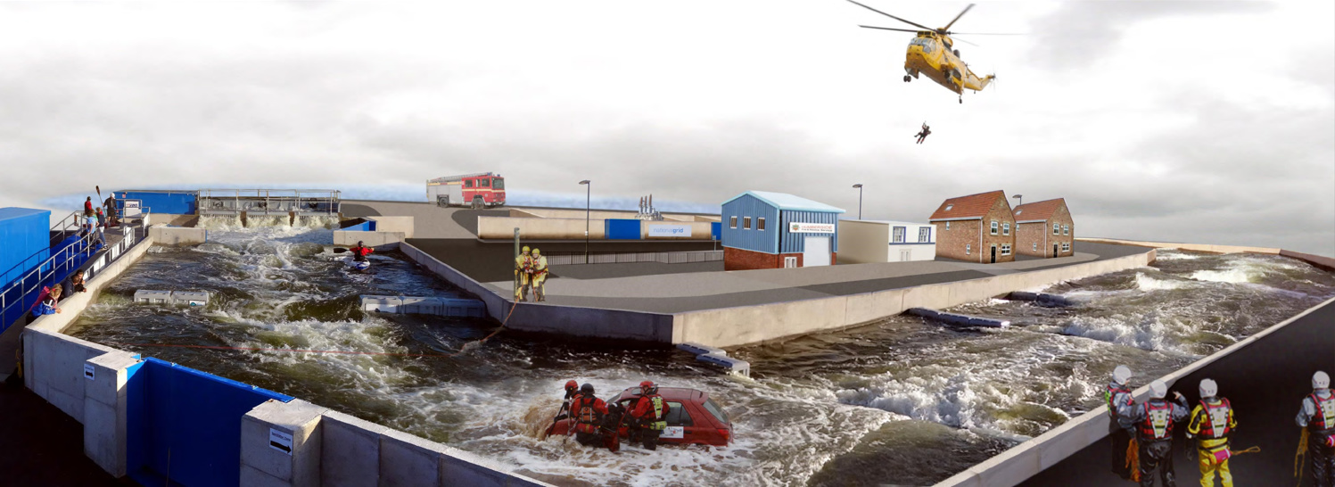 Ark: National Flood Resilience Centre is the first facility of its kind anywhere in the world. It provides realistic environments that will enable businesses, specialists and communities to build resilience through collaborative training and research.