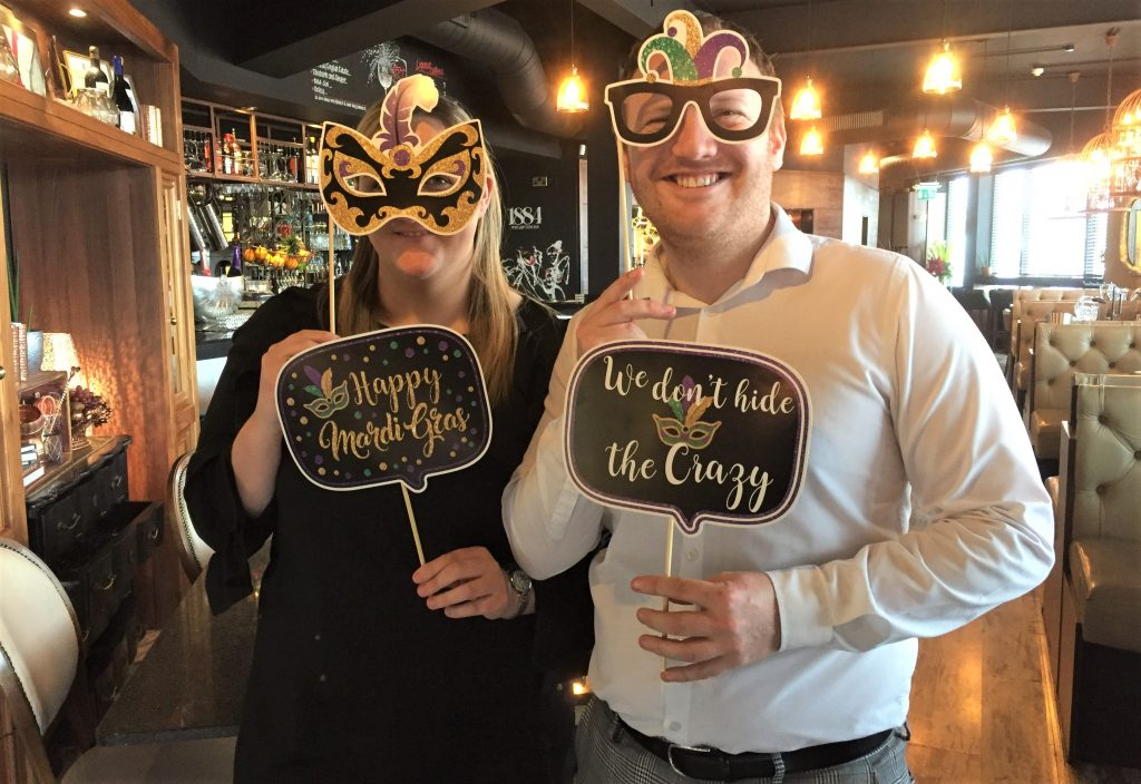 Mardi Gras will be unmasked on Friday at 1884 Wine & Tapas Bar.