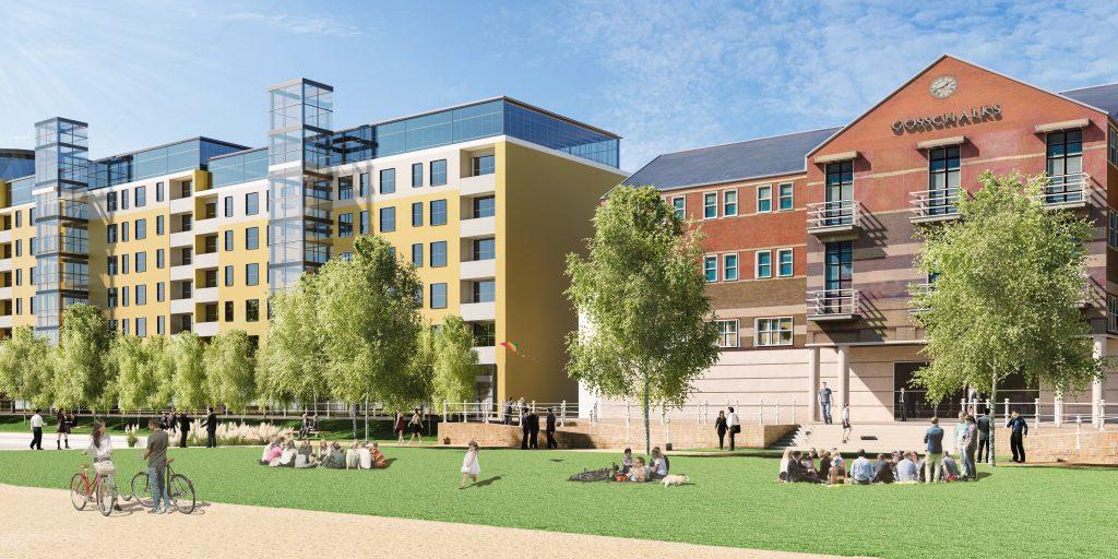 Queens Gardens plans.