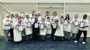 Catering students at Hull College