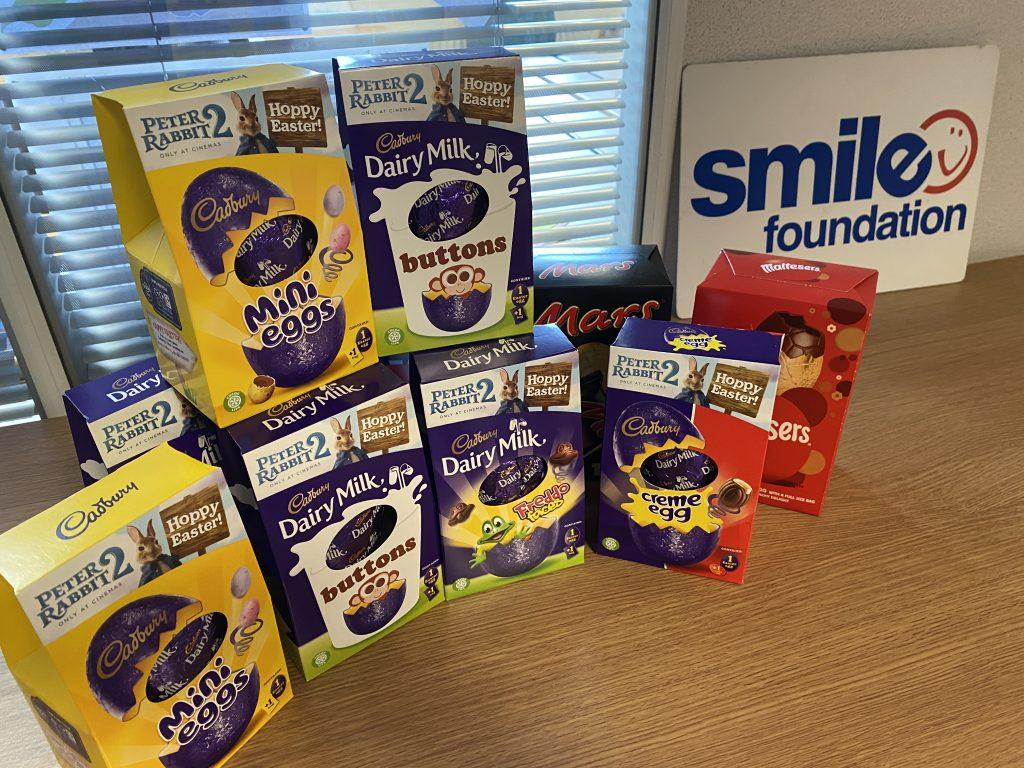 Smile Foundation Easter egg appeal 2020