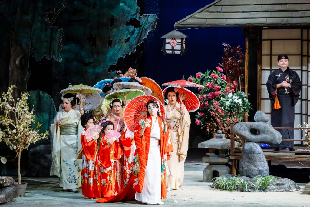 Madama Butterfly at Hull City Hall next week on 19 March.