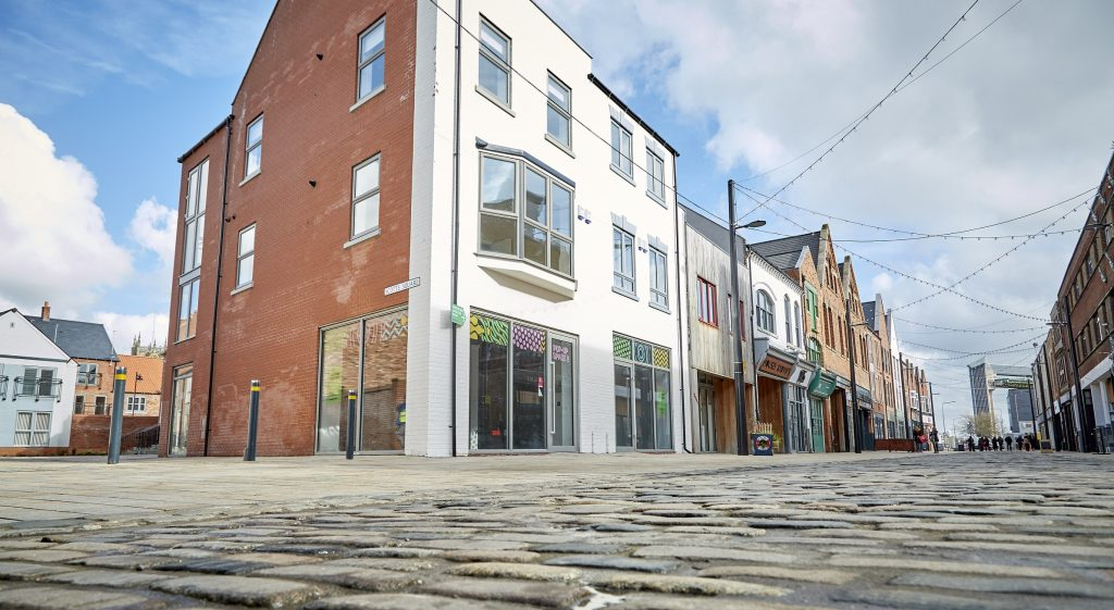 The Humber Street pop-ups have been earmarked as dedicated spaces for creatives and start-up businesses.