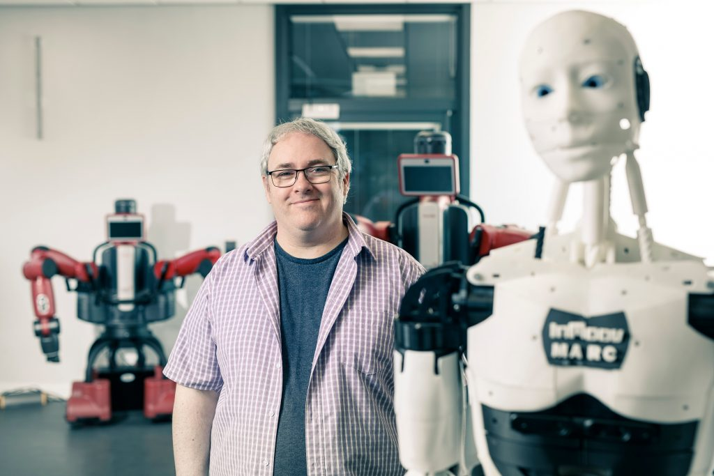 Professor John Murray, professor in robotics and autonomous systems at the University of Hull