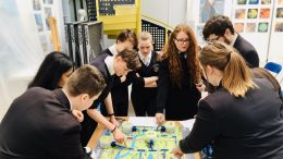 Students celebrated British Science Week at Wilberforce College.