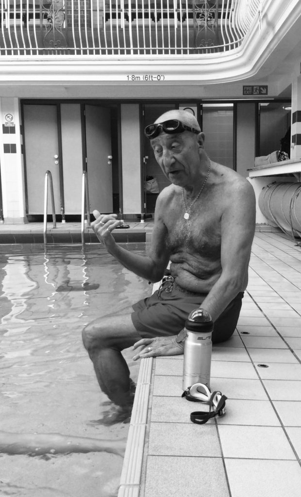 Photographer Irene Kopanska has been documenting the swimmers at Beverley Road Baths.