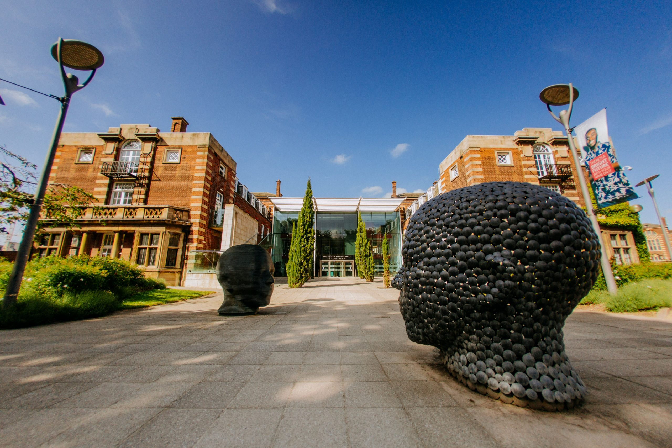 University of Hull campus.