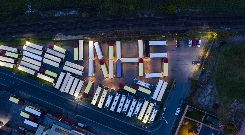 East Yorkshire buses spell out NHS