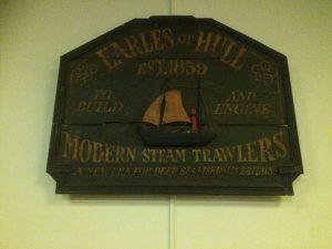 Earle's Shipyard sign