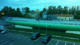 A Russian submarine.