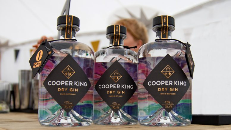 Yorkshire-based gin and whisky maker, Cooper King Distillery.
