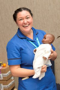 Melanie Lee, specialist midwife for parent education within the trust's HEY Baby team.