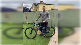 Cyclist Robert Murray.