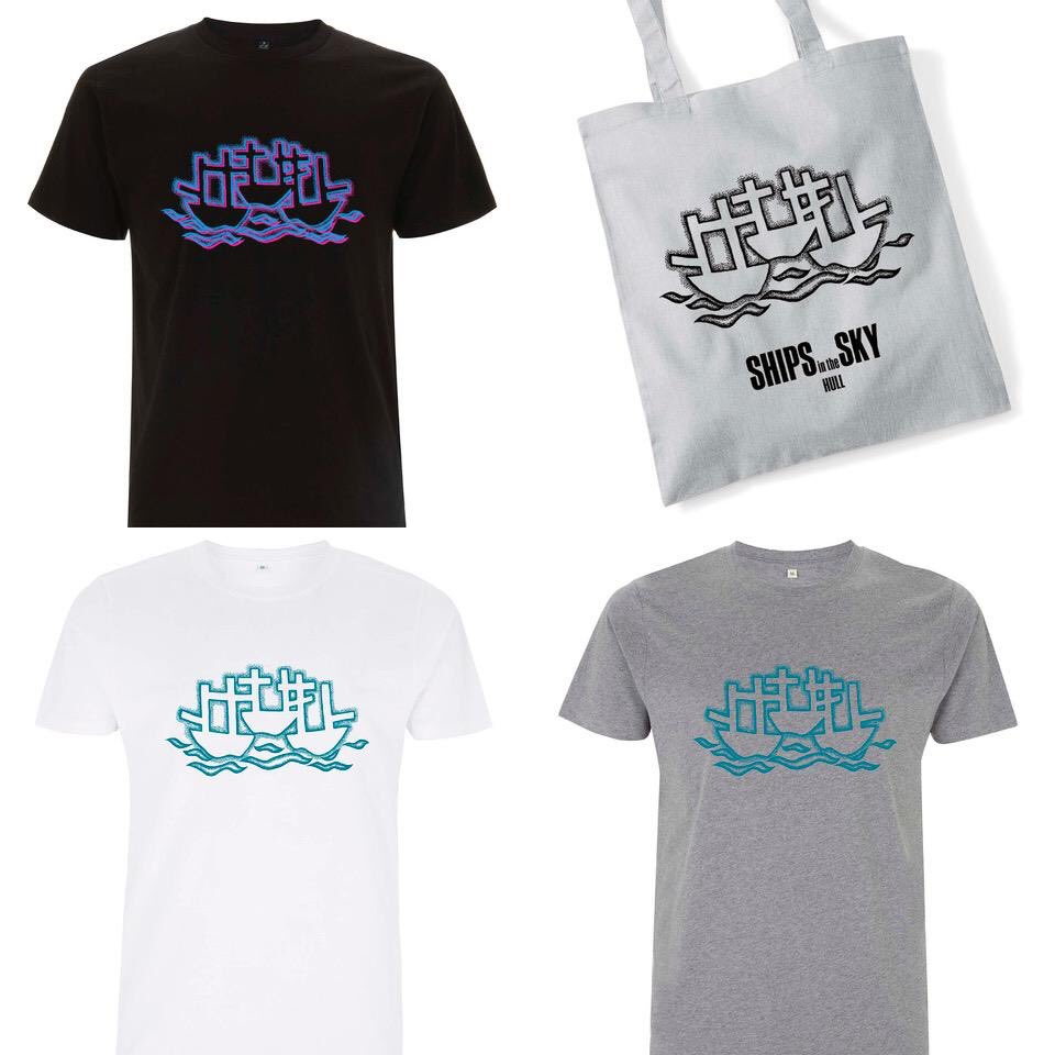 Ships in the Sky Tees and Tote