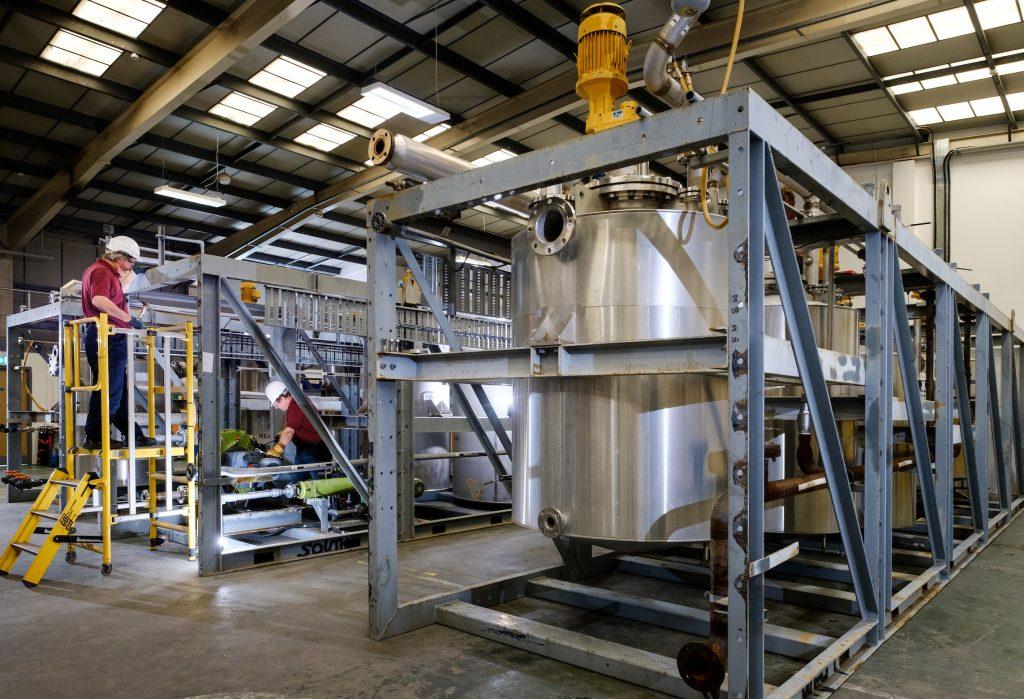 HETA process plant