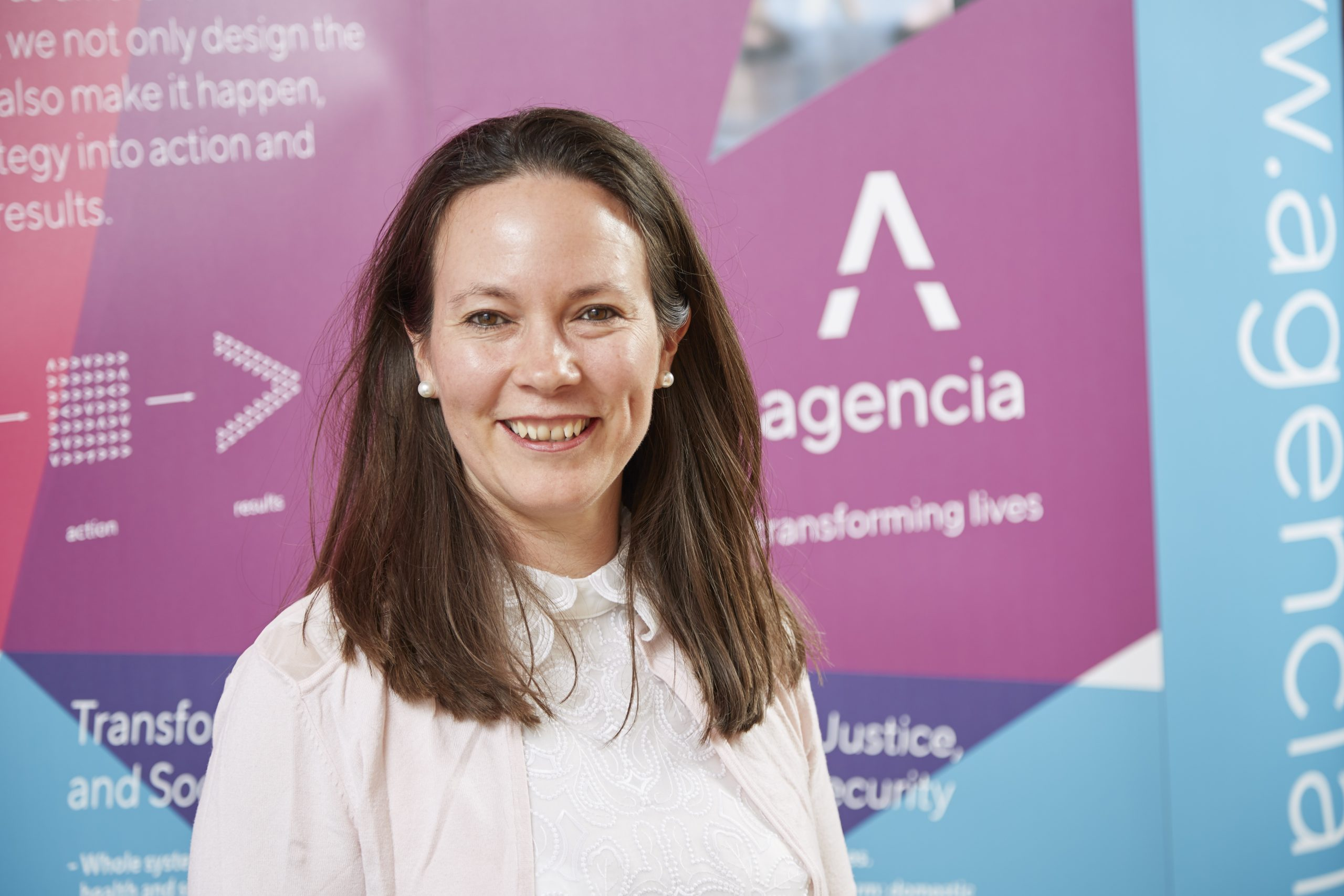 Helen Gibson, Managing Director of Agencia.