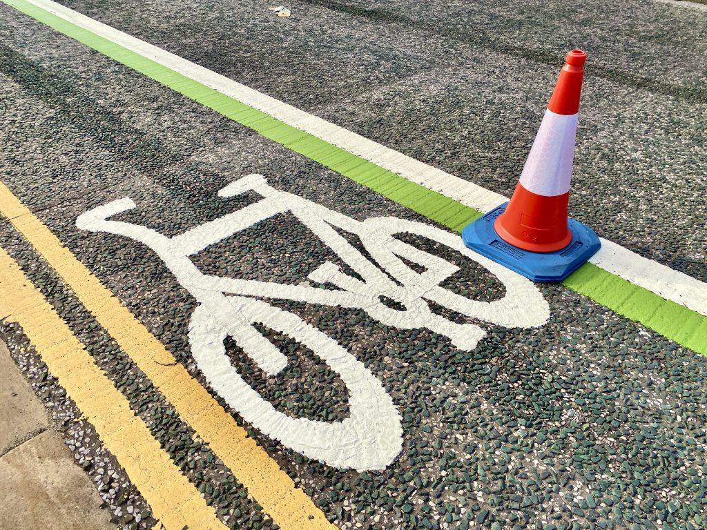 cycle lane upgrading