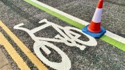 cycle lane upgrading