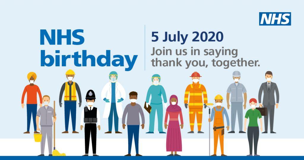 NHS 72nd birthday