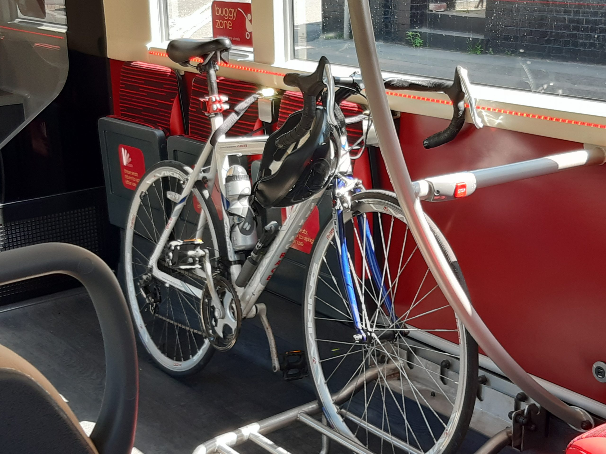 bike on bus
