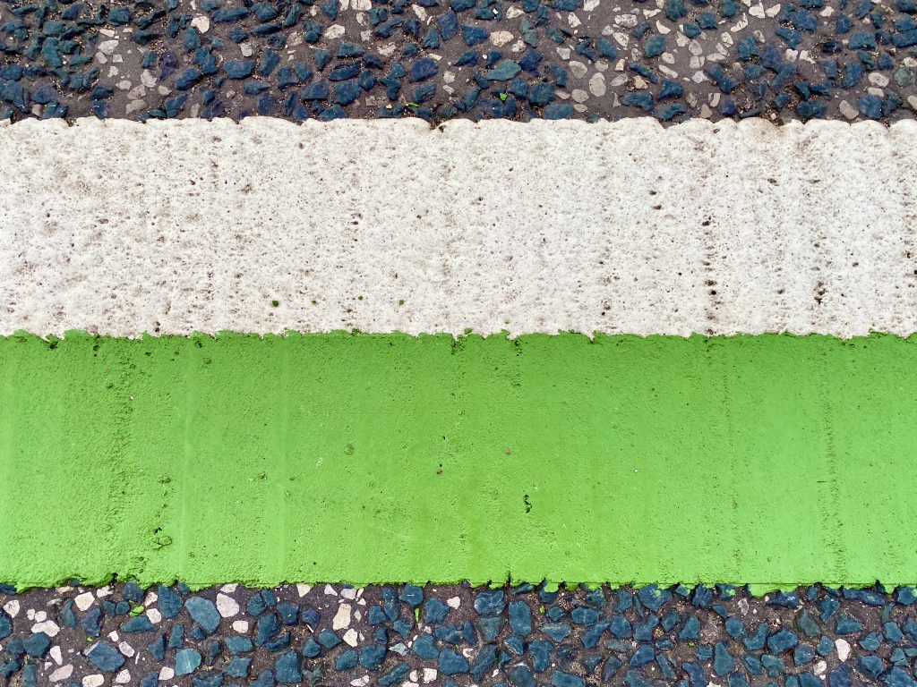cycle lane markings