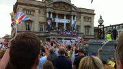 Olympic celebration.