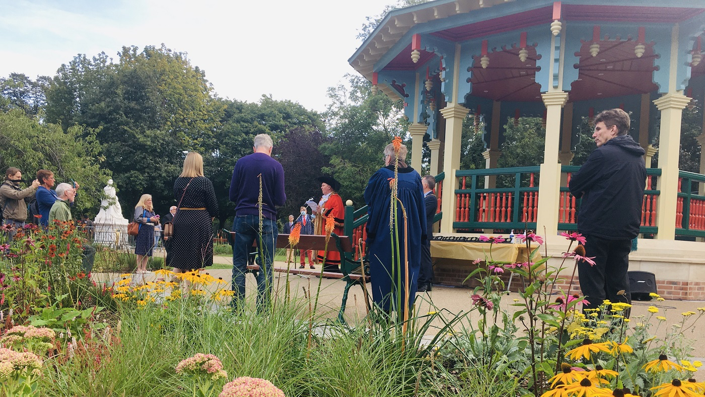 Pearson Park bandstand