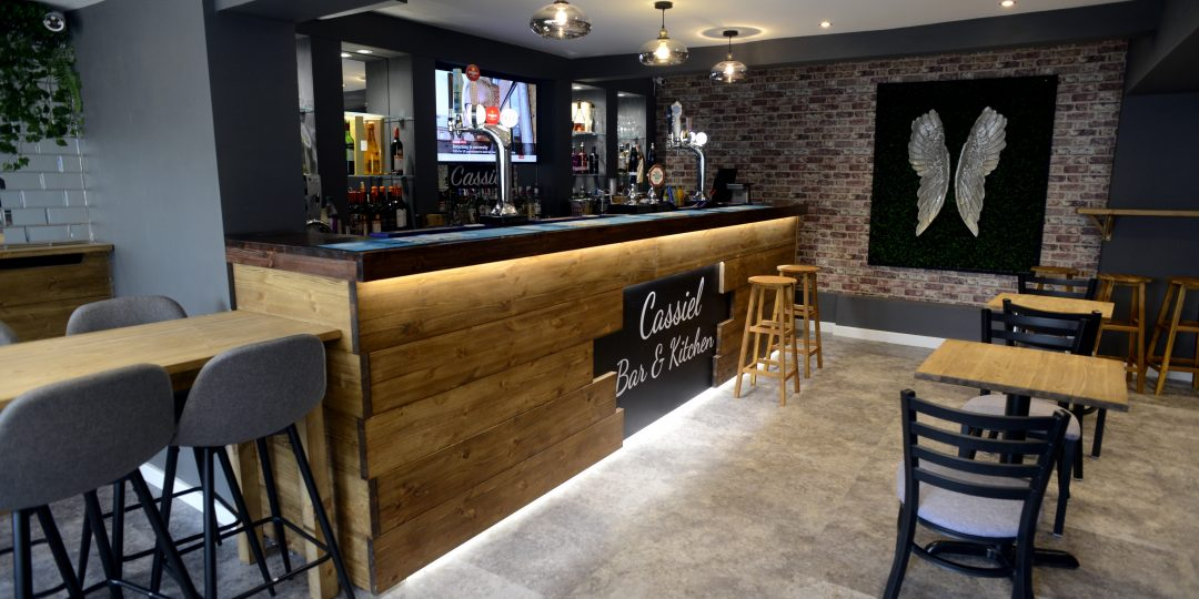 Cassiel bar kitchen