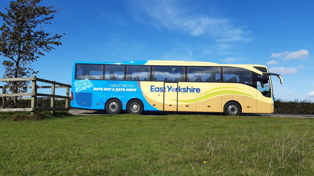 East Yorkshire Coaches reveals new look.